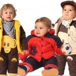 Free-Shipping-Thicker-winter-baby-clothing-overalls-cotton-suits-boys-and-girls-clothes-set-jacket-pants